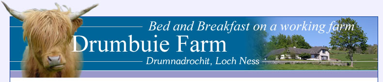 Drumbuie Farm: Bed and Breakfast, Loch Ness